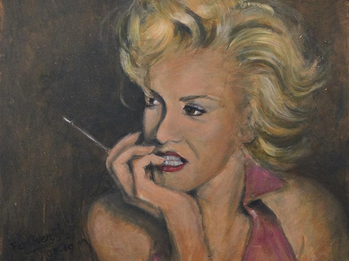 "Marilyn Monroe - ""Photo print - 40 x 30 cm"""