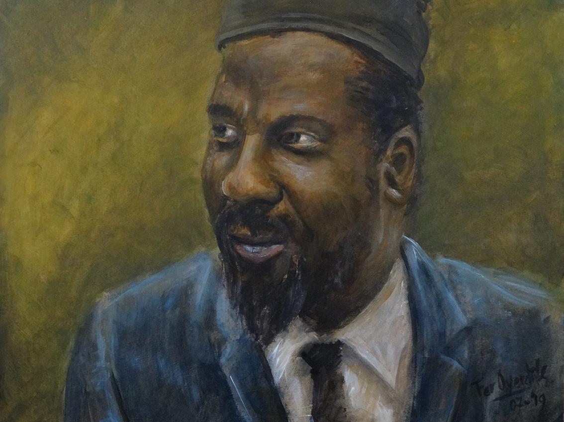 "Thelonious Monk - ""Photo print 40 x 30 cm"""