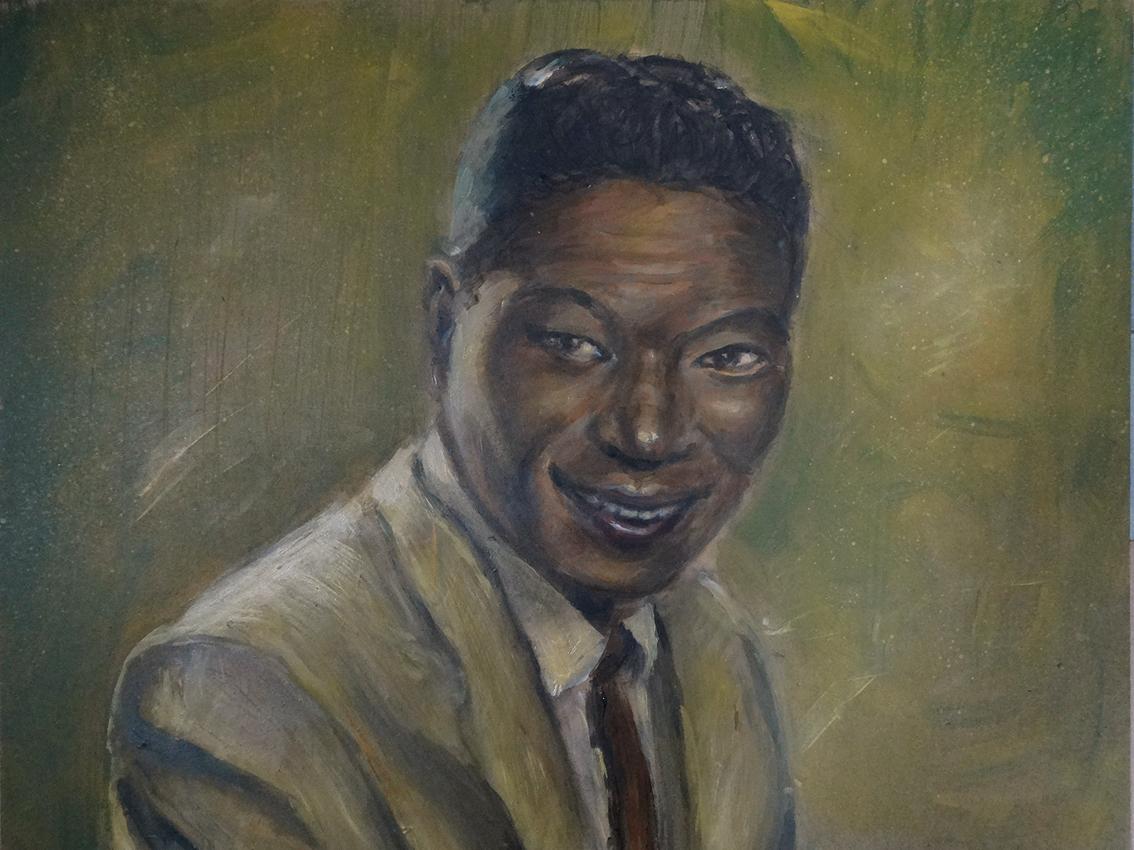 "Nat King Cole - ""Photo print - 40 x 30 cm"""