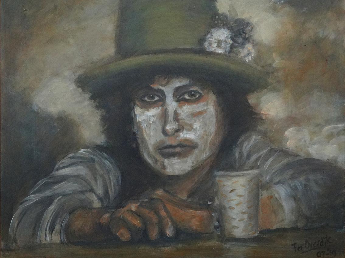 """Bob Dylan - """"Photo print - 40 x 30 cm"""""""