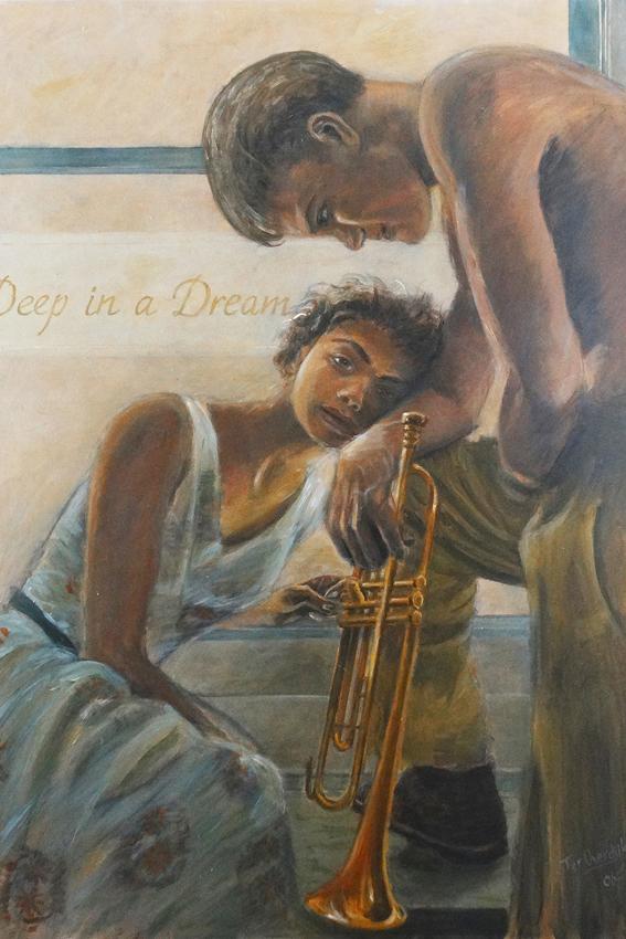 "Chet & Halema - ""Original painting"""