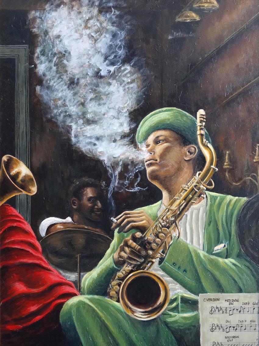 "Long Tall Dexter - ""Original painting"""