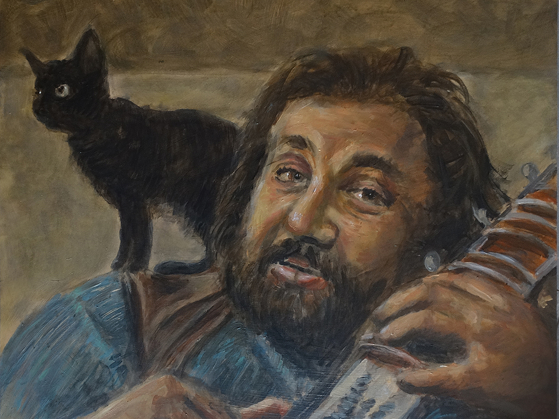"Cornelis Vreeswijk - ""Original painting"""