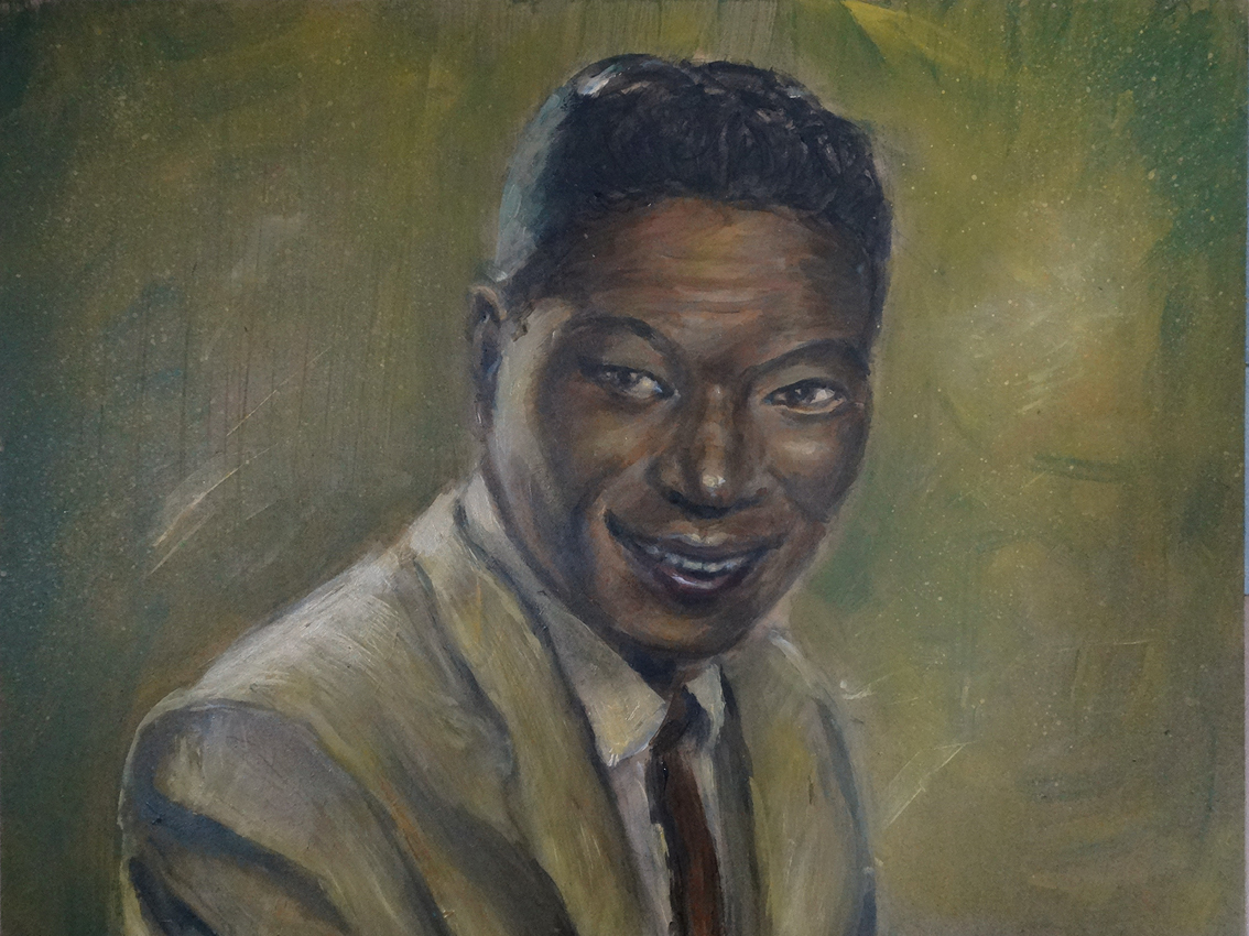 "Nat King Cole - ""Original painting"""